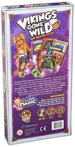 Pleasant Company Games LKY003 Vikings Gone Wild: It's a Kind of Magic Expansion It's a Exp - Juego de Mesa (Contenido en alemán)