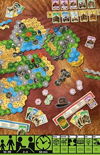 Ravensburger El Dorado, Juego de mesa, Light strategy, 2-4 Jugadores, Edad recomendada 10+ (26032)