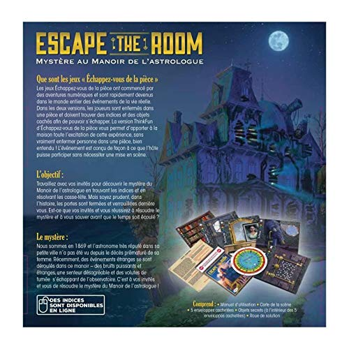Ravensburger–Juego–Escape The Room Myst Manoir, 76315