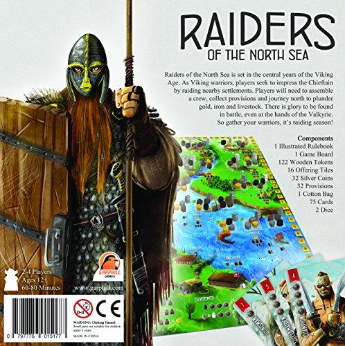 Renegade Game Studios RGS00585 Raiders of The North Sea - Juego de Mesa