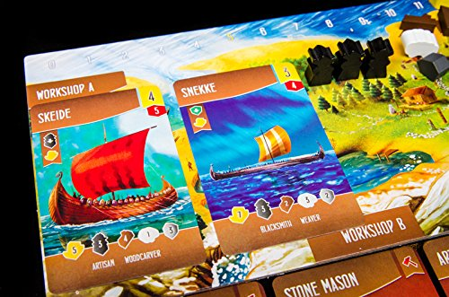 Renegade Game Studios RGS00587 Shipwrights of The North Sea - Juego de Mesa