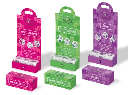 The Creativity Hub Story Cubes - Prehistoria