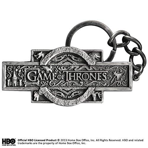 The Noble Collection Llavero con Logo de Game of Thrones