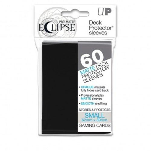 Ultra Pro- Pro-Matte Eclipse Black Small (60), Color Negro (85386)