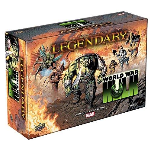 Upper Deck Marvel Legendary: World War Hulk Deck Building Game