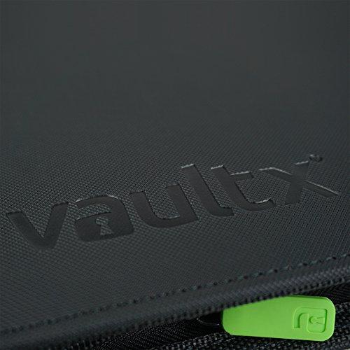 Vault X Carpeta Exo-Tec Premium Zip - Álbum de 9 Bolsillos para Cartas Coleccionables - 360 Bolsillos de Inserción Lateral con una Cremallera TCG