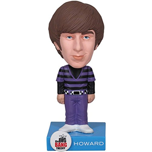 Wacky Wobbler - Howard de The Big Bang Theory, Figura de 18 cm (Funko FUNWWBT2536)