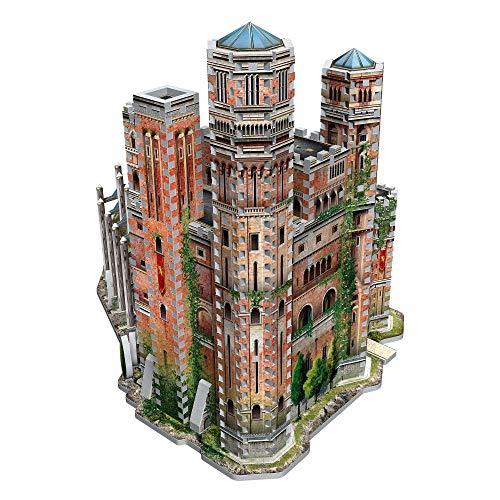 Wrebbit 3D-La Fortaleza Roja Puzzle 3D, Multicolor, estándar (W3D-2017)