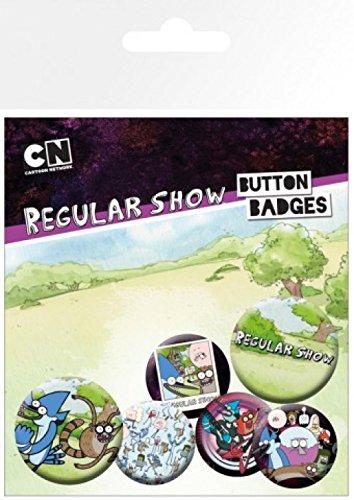 1art1 Historias Corrientes - Characters, 4 X 25mm & 2 X 32mm Chapas Set De Chapas (15 x 10cm)