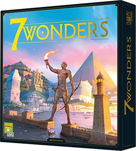 7 Wonders versión 2020 Asmodee - Juego de estrategia - Idioma Francés