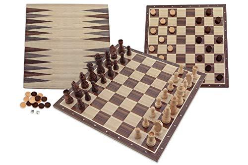 Ajedrez Damas Backgammon FSC100% NC-COC-059290