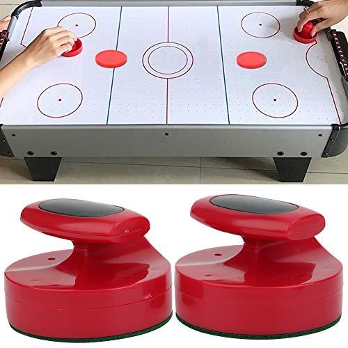 AMONIDA Juego de empujadores de Hockey de Mesa de 185 g, empujadores de Hockey de Mesa, Accesorio de Hockey de Mesa Deslizante de 94 mm, tamaño Grande para Todo Tipo de mesas de Hockey diseño