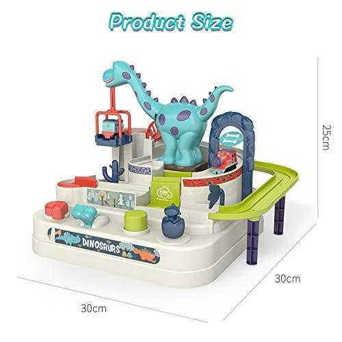 Arkmiido Juegos de Aventuras en Pistas de Coches, Juegos de Aventuras en Pistas de Dinosaurios Juguetes para niños 3 4 5 6 años Niños, Juegos interactivos Juegos para niños Regalos para niños