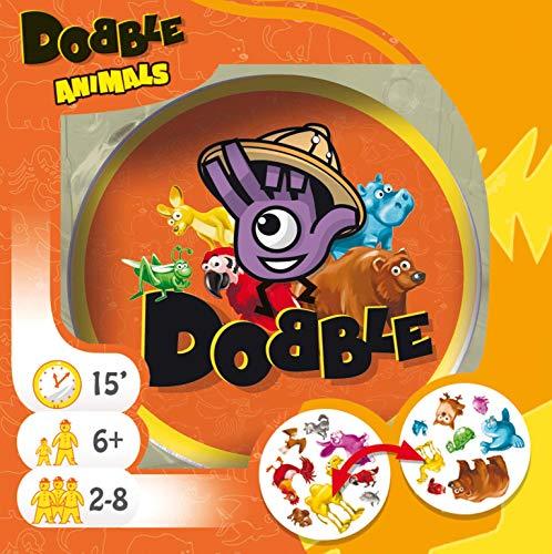 Asmodee Ediciones ASMDOAN01EN Dobble Animales