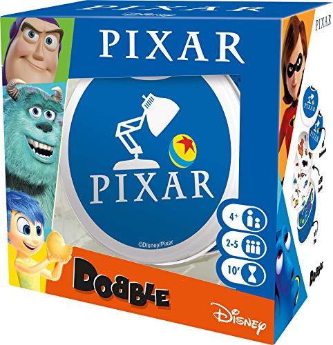 Asmodee Editions ASMDOBPIX01EN Dobble Pixar, Colores Mezclados