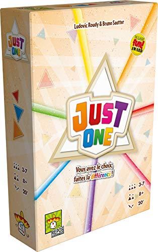 Asmodee- Just One, REPJO01FR, juego de ambiente - Idioma Francés