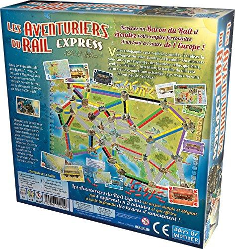 Asmodee - Les Aventuriers du Rail Express, AVE22