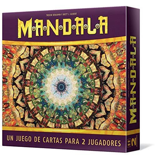 Asmodée- Mandala - Español, Multicolor (LKGMA01ES)
