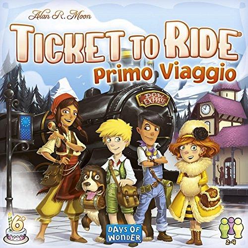 Asmodee - Ticket To Ride Primo Viaggio Edición Italiana, 8516.