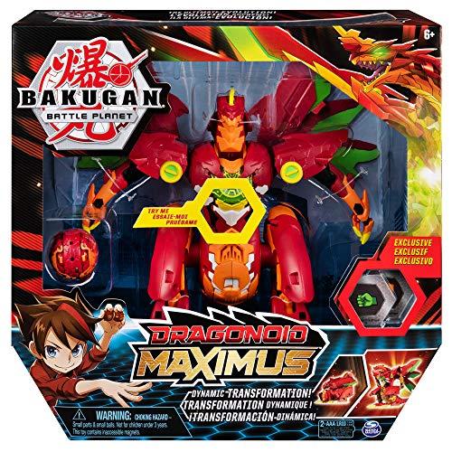 Bakugan Figura Dragonoid Maximus (BIZAK 61926443)