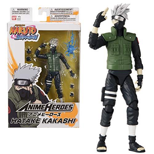 Bandai 36903 Anime Heroes-Naruto Hatake Kakashi-Figuras de acción de 15 cm