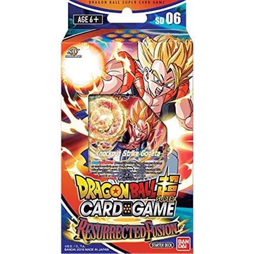 Bandai BCLDBST1206 Dragon Ball Super Card Game: Starter Deck-Resucitado Fusión