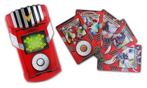 BANDAI Digimon - Fusion Loader + 5 Cards