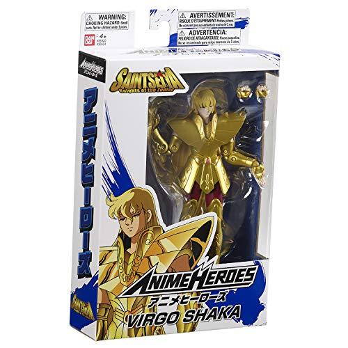 BANDAI Seiya Zodiac – Anime Heroes 17 cm – Guerrero de Gold Saints Shaka el Virgo Saint – 36924