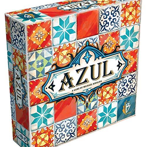 BDWN El Super Juego Juego de Mesa Azul Tiles para niños Juegos de Cartas de Cubierta Juego de Cartas de Estrategia para Adultos y Adolescentes y Juego de Fiesta Juego de Mesa