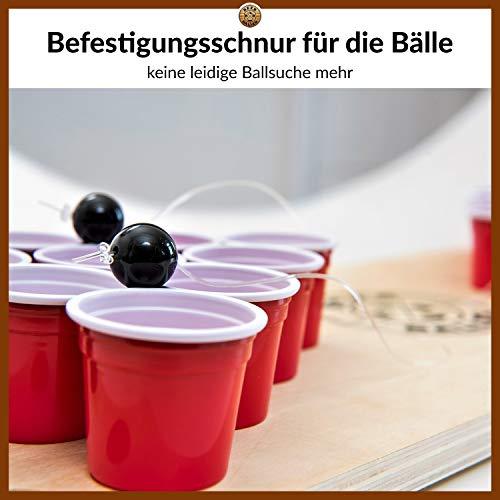 BeerBaller® Shot Pong: El Legendario Juego de Pong de Cerveza en Miniatura!   EL Nuevo Juego DE Beber del 2019! Piezas de Repuesto gratuitas próxima Fiesta!