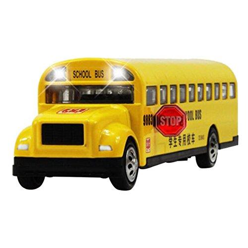 Black Temptation Regalos Frescos automóviles de Juguete Modelo de Juguete Modelos de los Coches de aleación Modelo de Coche-School Bus
