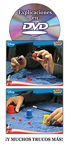 Borras- Magia Edición Mickey Magic, 15 trucos, contiene DVD, a partir de 5 años (Educa 14404)