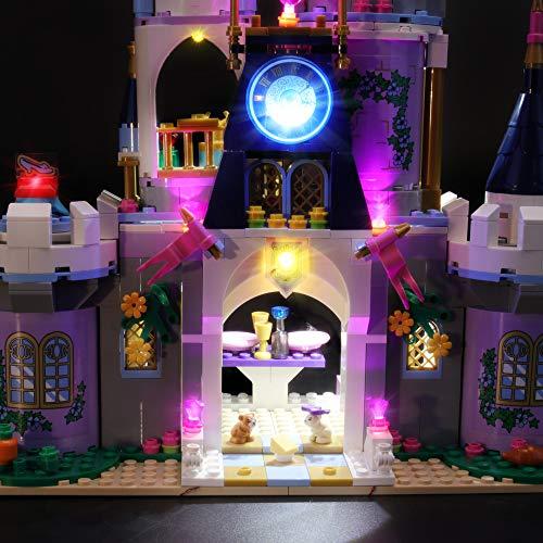 BRIKSMAX Kit de Iluminación Led para Lego Princesas Disney Castillo de ensueño de Cenicienta,Compatible con Ladrillos de Construcción Lego Modelo 41154, Juego de Legos no Incluido
