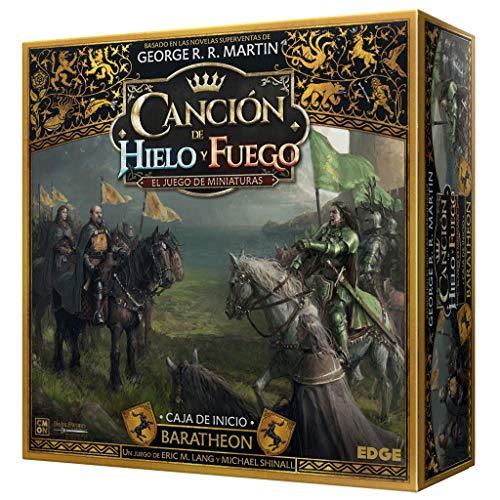 Canción de Fuego y Hielo el Juego de Miniaturas - Caja de Inicio Baratheon