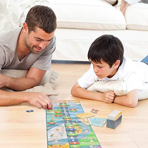 Carrera de letras (Lúdilo) – Juego de Mesa Educativo para niños, juega con las palabras y fomenta la adquisición de vocabulario, Jugar en familia para aprender y desarrollar el lenguaje