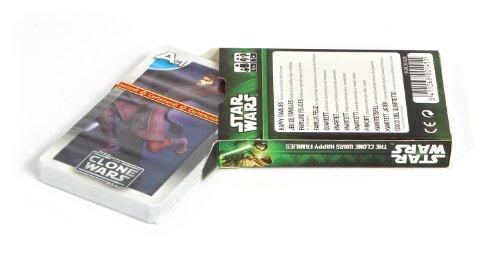 Cartamundi - Juego de Cartas Clone Wars Star Wars, de 2 a 6 Jugadores (100036928) (Importado)