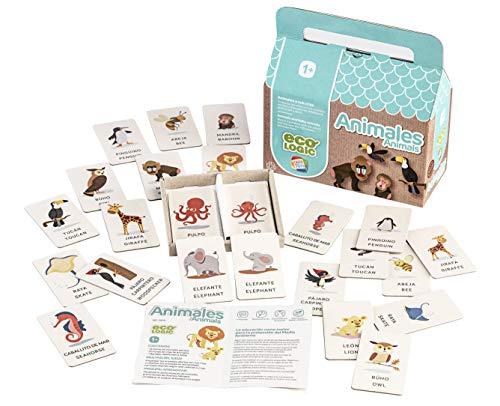 Cefa Toys- Eco Logic Animales Juego de Fichas, Multicolor (21674)