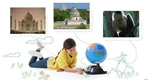 Cefa Toys Leapfrog Globo Terráqueo InteractivoMultimedia ¡DESCUBRE Nuestro Maravilloso Planeta, Niños, Azul, a
