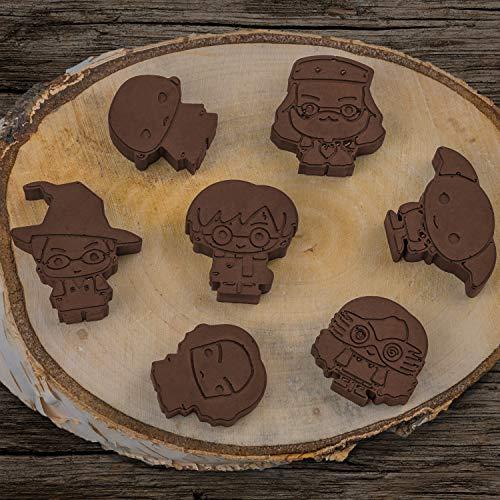 Cinereplicas Harry Potter Cubo de Hielo o Molde de Chocolate - Silicona - Oficial Kawaiii