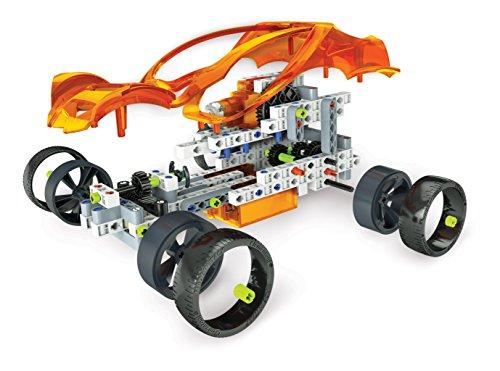 Clementoni- Laboratorio de Mecánica Motor Eléctrico, Multicolor, Miscelanea (55125.5)