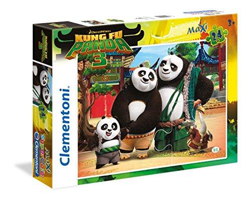 Clementoni - Puzzle de 24 Piezas Kung Fu Panda 3 (24475)