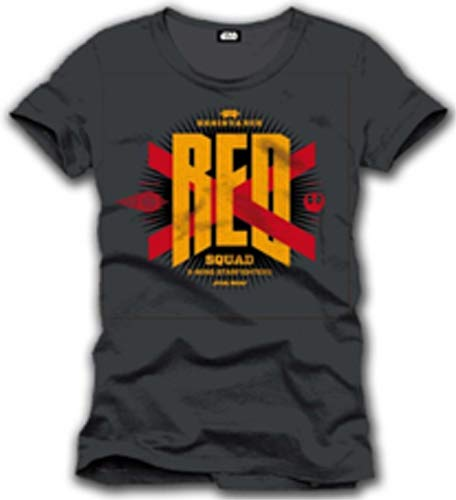 Codi Tshirt Homme Star Wars VII - Red Squad X-Wing - Legend Icon