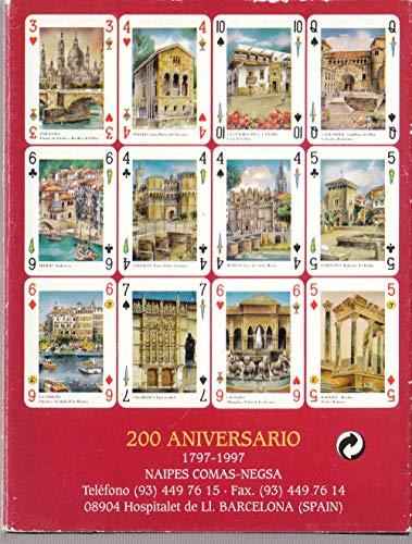 Comas Baraja de Juego de Cartas España Poker Española 54 Vistas