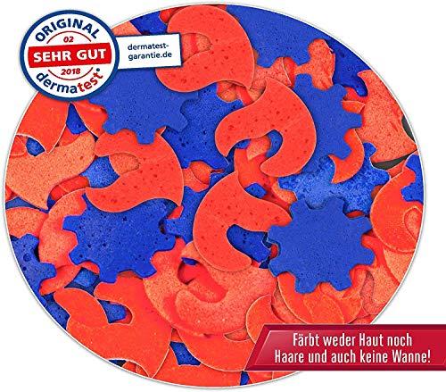 CRAZE INKEE Magisches Duft Badekonfetti XXL Badeset Feuerwehrmann Sam Badespaß für Kinder 29527-Conjunto de baño con Aroma mágico de Confeti, diseño de Bombero, Color para bañera. (29527)