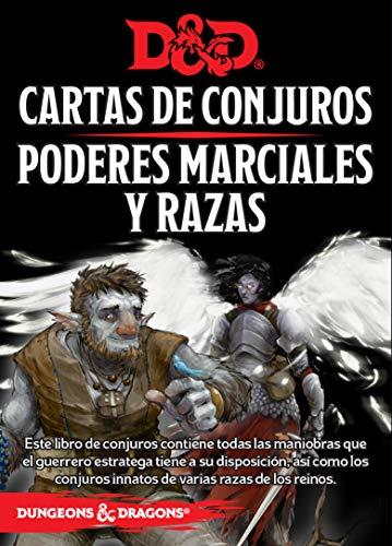 D&D Cartas de Conjuros Poderes Marciales Yrazas Lengua española
