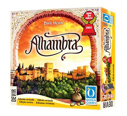 Devir Alhambra - Second Edition (Queen Games BGALHA2)