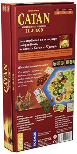 Devir - Catan, Juego de Mesa - Idioma Castellano (BGCATAN) + Catan, Juego de Mesa - Ampliación para 5 y 6 Jugadores (BGCATAN56)