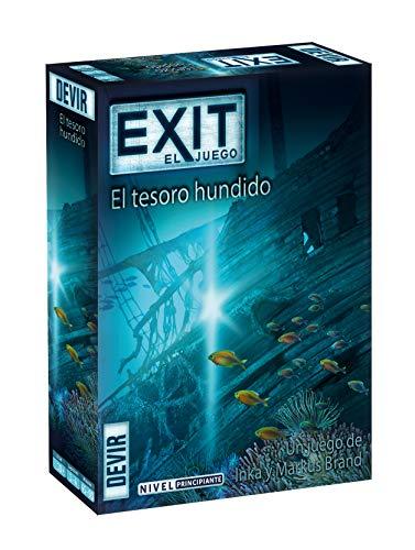 Devir - Exit: El Tesoro hundido, Ed. Español (BGEXIT7) + Exit: Muerte en el Orient Express, Ed. Español (BGEXIT8)