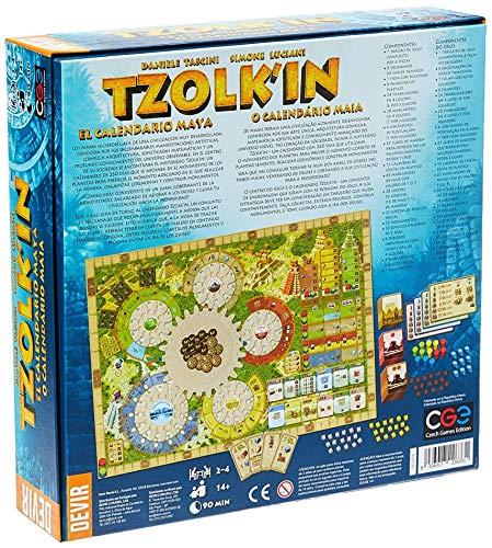 Devir - Tzolk'in Juego de Tablero , color/modelo surtido