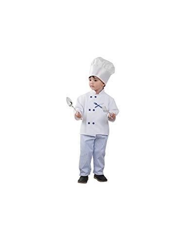 DISBACANAL Disfraz Cocinero niño - -, 4 años